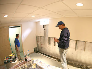 Superbe Basement Waterproofing Owner On Job