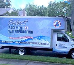 Select Basement Waterproofing Solutions